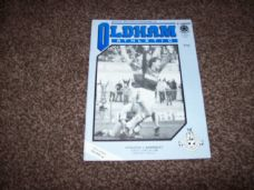 Oldham Athletic v Barnsley, 1985/86